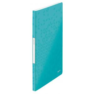 Katalógová kniha 20 Leitz WOW ľadovo modrá