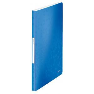 Katalógová kniha 40 Leitz WOW metalická modrá
