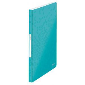 Katalógová kniha 40 Leitz WOW ľadovo modrá