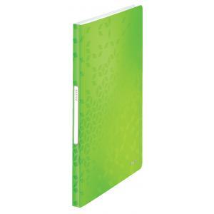 Katalógová kniha 40 Leitz WOW metalická zelená