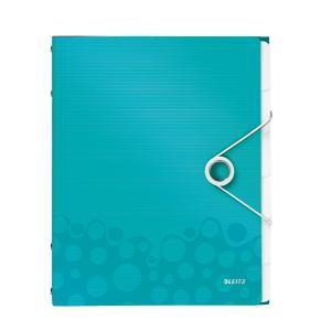 Triediaca kniha 6 Leitz WOW ľadovo modrá
