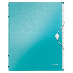 Triediaca kniha 12 Leitz WOW ľadovo modrá