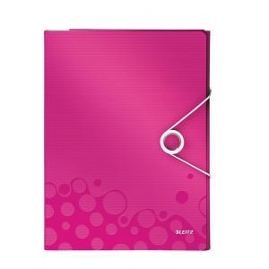 Organizér na dokumenty Leitz WOW metalický ružový