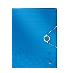 Organizér na dokumenty Leitz WOW metalický modrý
