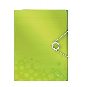 Organizér na dokumenty Leitz WOW metalický zelený