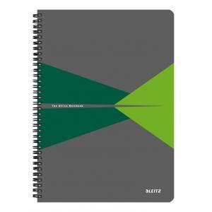 Blok College Leitz Office A4 90 listov linajkový zelený