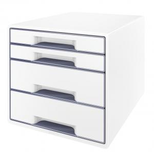 Zásuvkový box Leitz WOW sivá