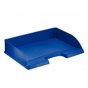 Odkladač Leitz Plus modrý A4 na šírku