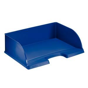 Odkladač Leitz Jumbo Plus na šírku modrý
