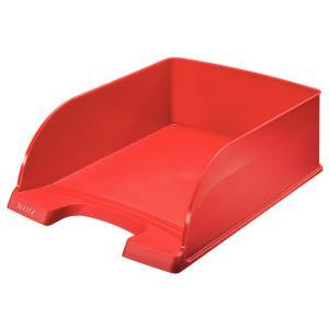 Odkladač Leitz Jumbo Plus červený