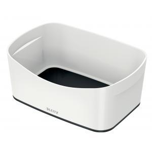 Stolný box Leitz MyBox biela/čierna