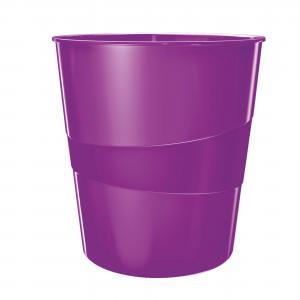 Odpadkový kôš 15l Leitz WOW purpurový