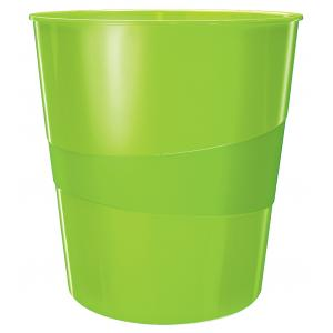 Odpadkový kôš 15l Leitz WOW zelený