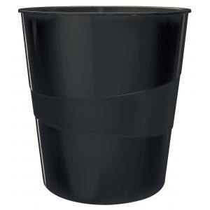 Kôš plastový Leitz WOW 15l čierny