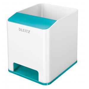 Stojan na perá hudobný Leitz WOW ľadová modrá