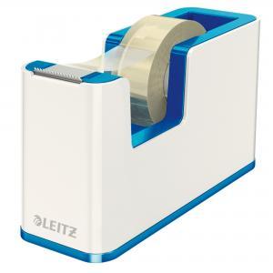 Dispenzor s páskou Leitz WOW biely/metalický modrý