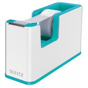 Dispenzor s páskou Leitz WOW biely/ľadovo modrý