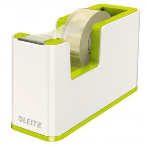 Dispenzor s páskou Leitz WOW biely/metalický zelený