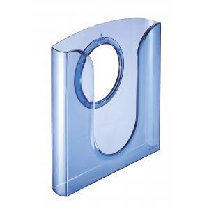 Prezentačný odkladač priehľadný modrý