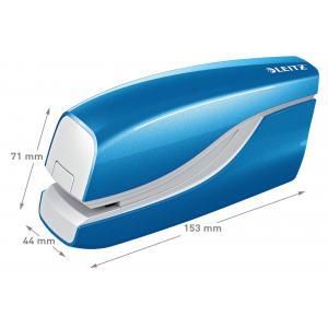 Elektrická zošívačka Leitz New NeXXt WOW 5566 modrá