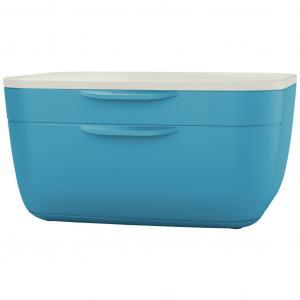 Zásuvkový box Leitz Cosy kľudný modrý