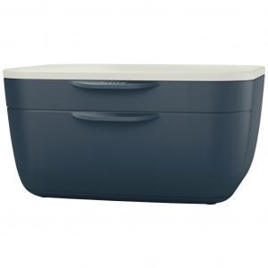 Zásuvkový box Leitz Cosy zamatový šedý