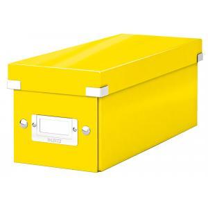 Škatuľa na CD Click & Store žltá