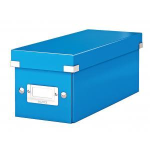 Škatuľa na CD Click & Store modrá