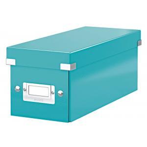 Škatuľa na CD Click & Store ľadovo modrá