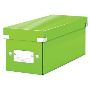Škatuľa na CD Click & Store zelená