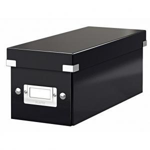 Škatuľa na CD Click & Store čierna