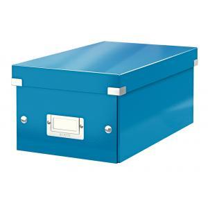 Škatuľa na DVD Click & Store WOW modrá