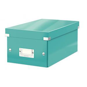 Škatuľa na DVD Click & Store WOW ľadovo modrá