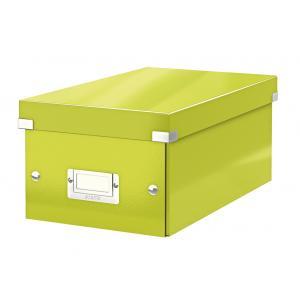 Škatuľa na DVD Click & Store WOW zelená