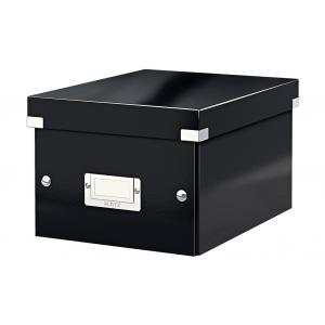 Malá škatuľa Click & Store čierna