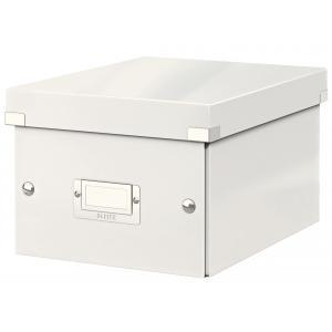 Malá škatuľa Click & Store biela