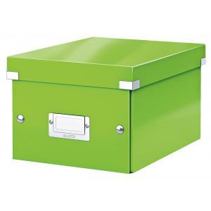 Malá škatuľa Click & Store zelená