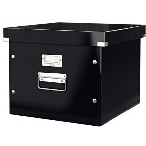 Škatuľa na závesné obaly Click & Store čierna (ES606700)