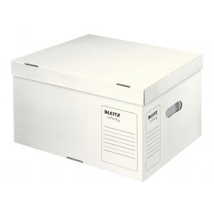 Archívna škatuľa Leitz Infinity s vekom veľkosť L biela
