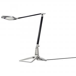 Lampa stolná LED Leitz Style Smart saténová čierna