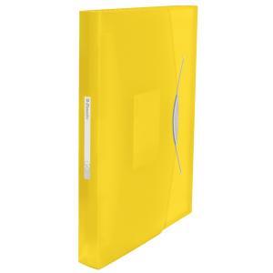 Aktovka plastová s priehradkami Esselte VIVIDA žltá