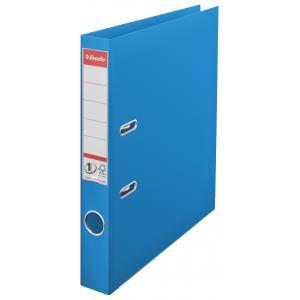 Zakladač pákový Esselte No.1 celoplastový 5cm VIVIDA modrý