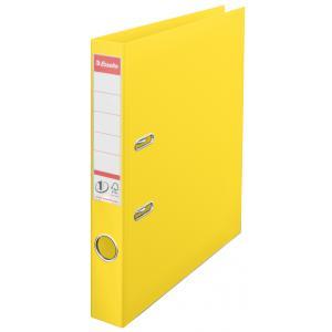 Zakladač pákový Esselte No.1 celoplastový 5cm VIVIDA žltý