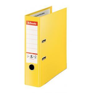 Zakladač pákový Esselte celoplastový A4 MAXI 8cm žltý