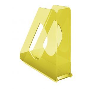 Stojan na časopisy Esselte Colour`Ice 7cm žltý