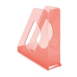 Stojan na časopisy Esselte Colour`Ice 7cm broskyňový