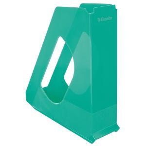 Stojan na časopisy Esselte Colour`Ice 7cm zelený
