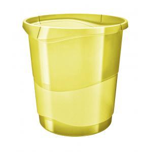 Kôš plastový Esselte Color`Ice 14l žltý