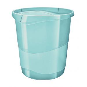Kôš plastový Esselte Color`Ice 14l modrý
