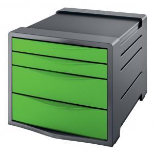 Zásuvkový box Esselte VIVIDA zelený
